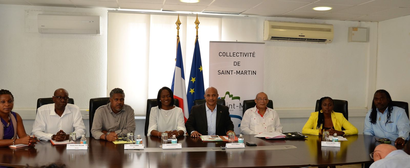 Le Meeting International d'Athlétisme à  Saint-Martin