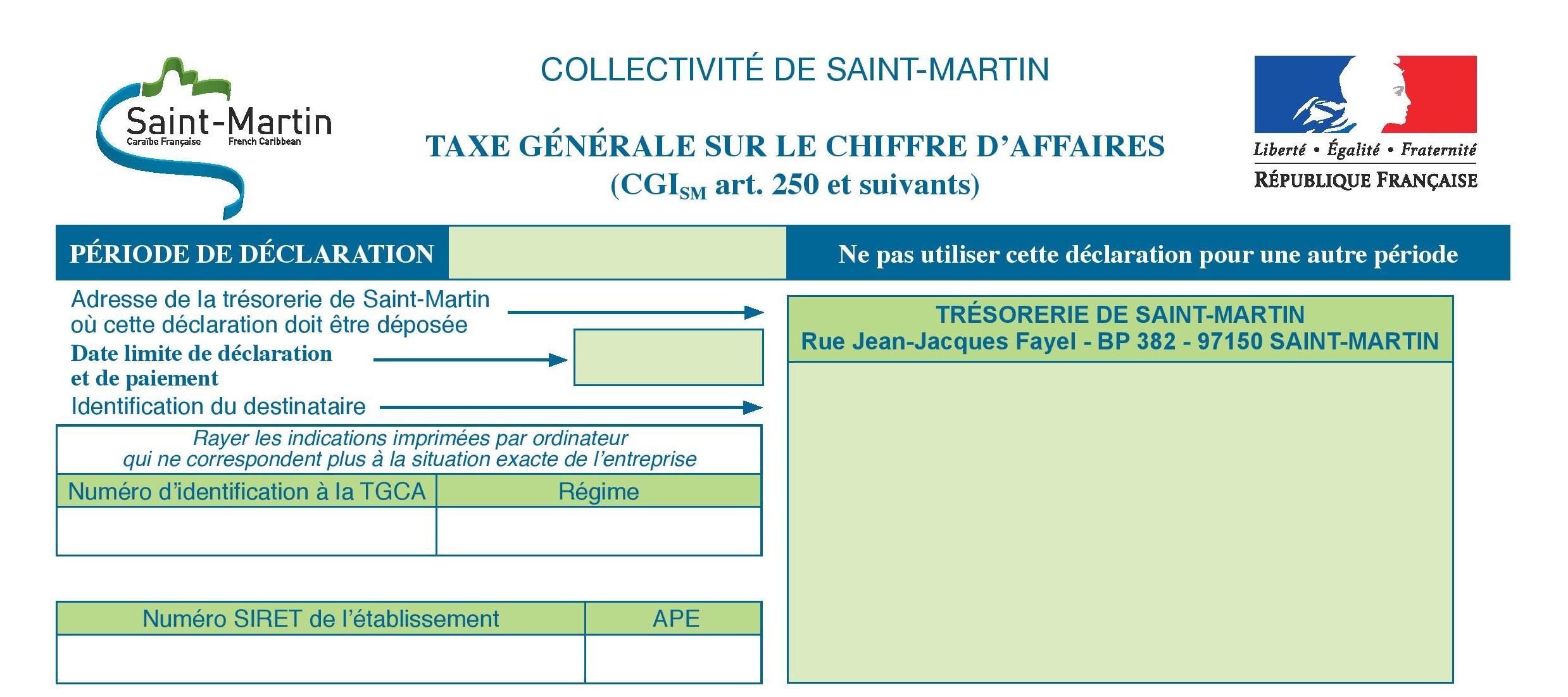 Collectivite De Saint Martin Antilles Francaise