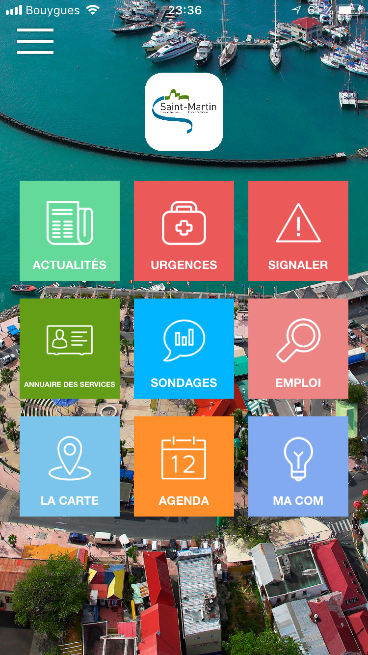 My Saint-Martin, l'application mobile de la COM, désormais disponible sur IOS !