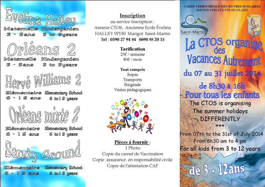 Community services of Saint-Martin French West Indies
