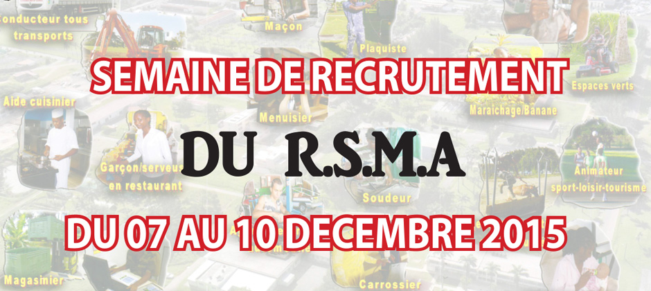RSMA recruitment