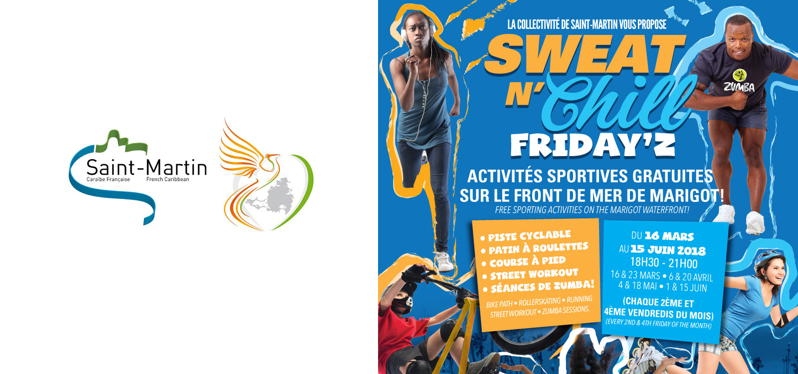 Launch of the Sweat N 'Chill Friday'z event