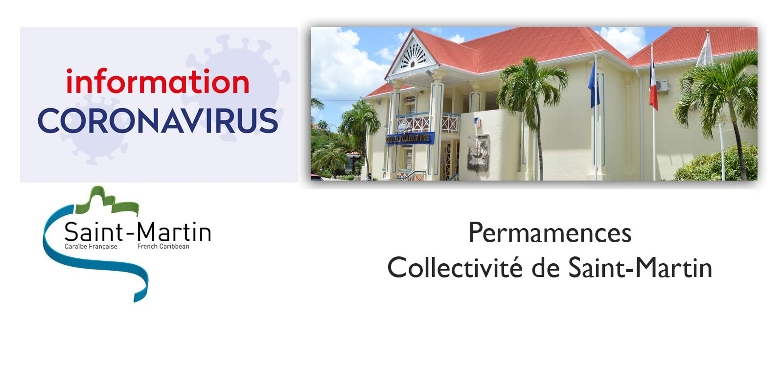 Permamences Collectivité de Saint-Martin